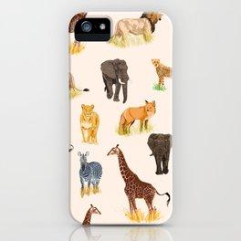 Safari Sightings iPhone Case