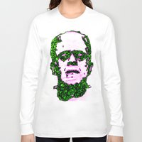 frank Long Sleeve T-shirts featuring Frank by Fimbis