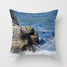 Push/Pull Throw Pillow