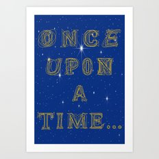 Fairy Tale Beginnings Art Print