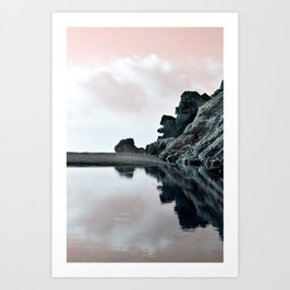 Reflections Of A Floating Coast Art Print