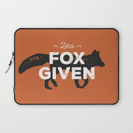 Zero Fox Given Laptop Sleeve
