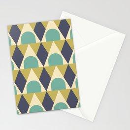 Elegant Art Deco Geometric Pattern 312 Stationery Cards