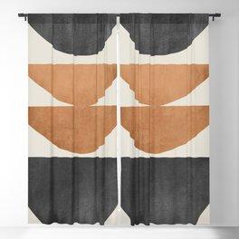 Minimal Abstract Art 40 Blackout Curtain