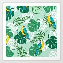 tropical m Art Print