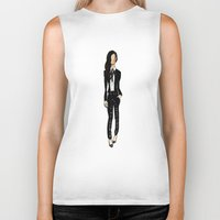 kardashian Biker Tanks featuring Kourtney Kardashian by Jack Hale