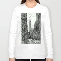 sketch Long Sleeve T-shirts featuring sketch by ALEXIS