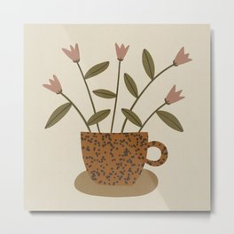 Monday Coffee Metal Print