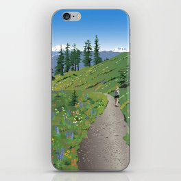 Silver Star Mountain iPhone Skin