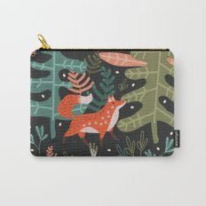 Evergreen Fox Tale Carry-All Pouch