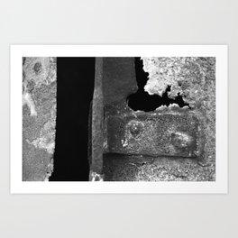 Hinge Art Print
