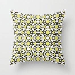 Modern Times 2.0 Pattern - Design No. 1 Throw Pillow