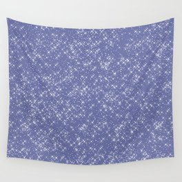 Purple Sparkles Wall Tapestry