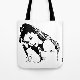 PORTRAIT 0F AN AMERICAN FEMALE POP STAR,ACTRESS AND SONGWRITER Tote Bag