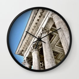 Roman Temple Corinthian Columns Nimes Provence France Wall Clock