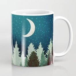 Star Forest Reflection Coffee Mug