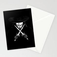 V for Vendetta (e7) Stationery Cards