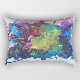 Watercolor Texture Rectangular Pillow