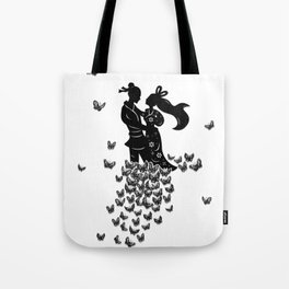 The Butterfly Lovers Tote Bag