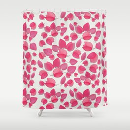 Begonvil Pedals Shower Curtain