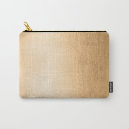 Simply Orange Sherbet Shimmer Carry-All Pouch