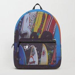 Surf-board-s up Backpack