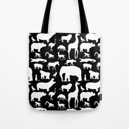 African Fauna Tote Bag
