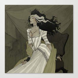 A Bride for the Monster Canvas Print