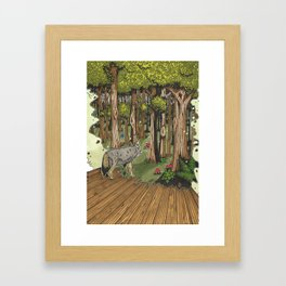 The Fae Reservation- Iron Kissed Framed Art Print