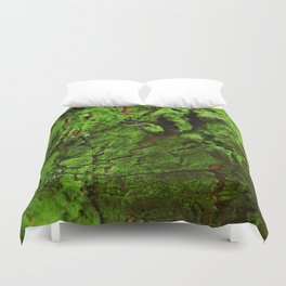 Green Moss Duvet Cover