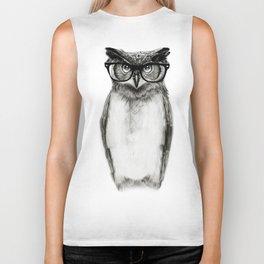 Mr. Owl Biker Tank
