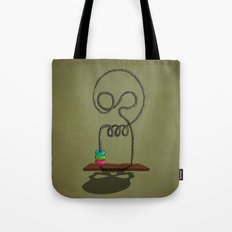 skull game Tote Bag