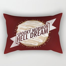 Book of Mormon - Spooky Mormon Hell Dream Rectangular Pillow