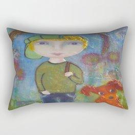 Anton & Gumbo - Whimsies of Light Children Series Rectangular Pillow