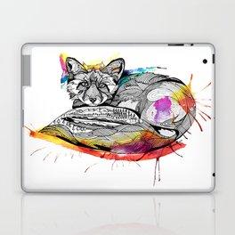 Watercolor Fox  Laptop & iPad Skin