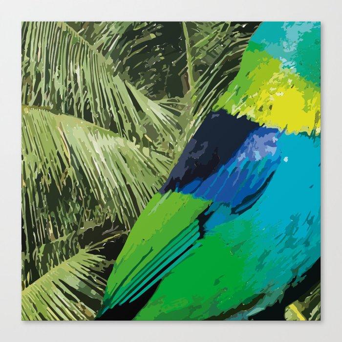 Brasil Tropical Canvas Print