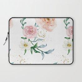 Rose Arrangement No. 1 Pattern Laptop Sleeve