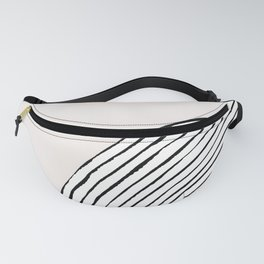 Concentric Circles Fanny Pack