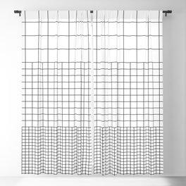 3 Grids Blackout Curtain