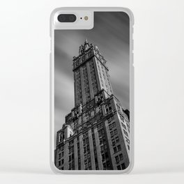 The Sherry-Netherland hotel overlooks Central Park from 5th Ave Clear iPhone Case