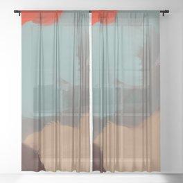Broken Sheer Curtain