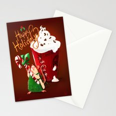 Christmas Rat 2014 Stationery Cards