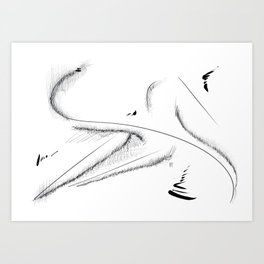 Abstract Landscape #13 Art Print