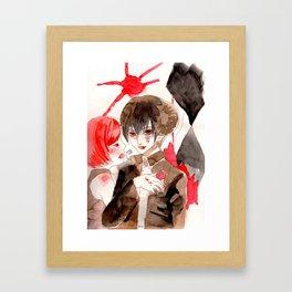 Dark horse Framed Art Print