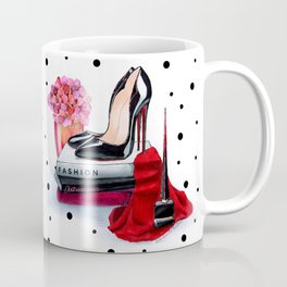 Black shoes Coffee Mug