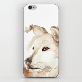 Wolf in the Mist iPhone Skin