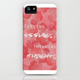 Roses: No Thorns iPhone Case