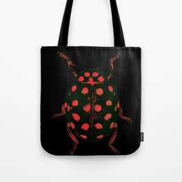 Insecte rouge et noir colors fashion Jacob's Paris Tote Bag