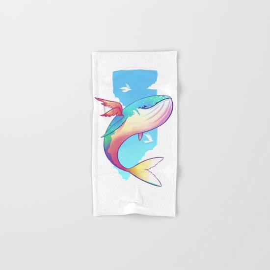 The Sky Whale Hand & Bath Towel