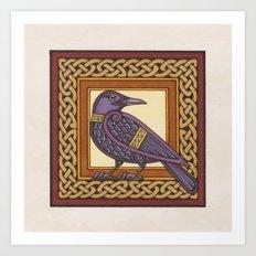 Cornix - Crow Art Print